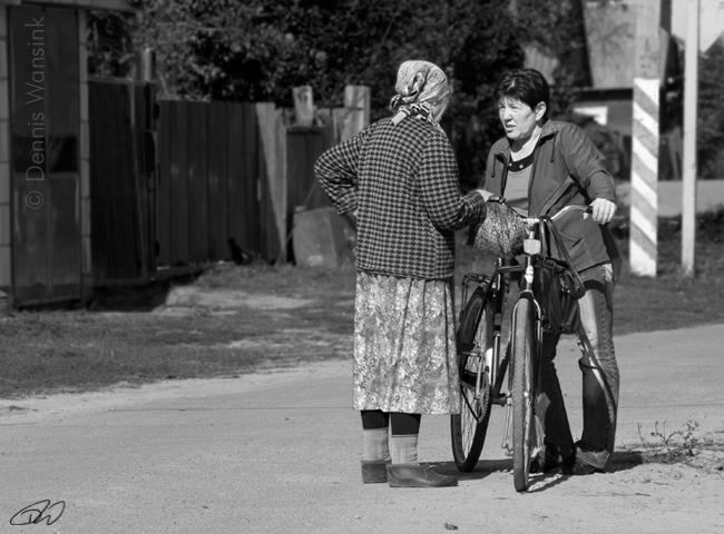 Street life in Turov